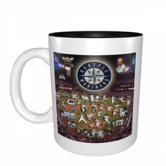 MLB Seattle Mariners Mugs #386813 design is funny unique and fit for all users